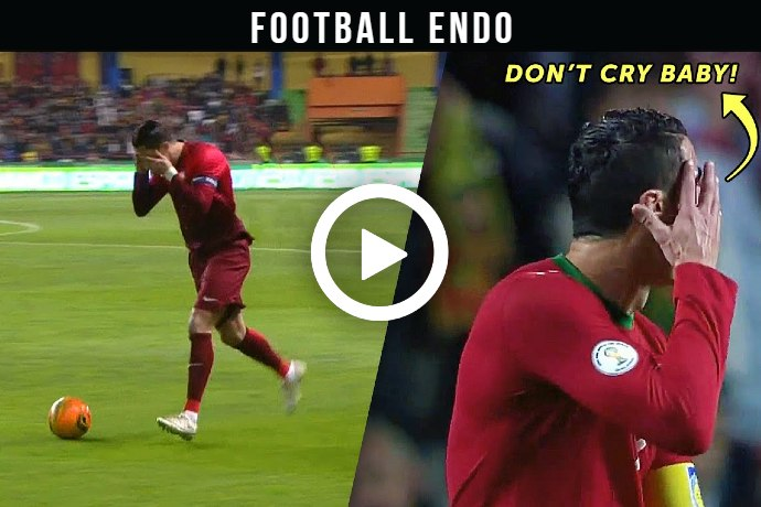 (Video) Watch Cristiano Ronaldo Just Loves Trolling Opponents