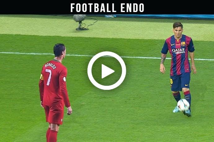 (Video) Watch The Battle of Rivals – Cristiano Ronaldo VS Lionel Messi