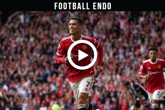 Video: Cristiano Ronaldo Goal against Newcastle   11 Sep 2021