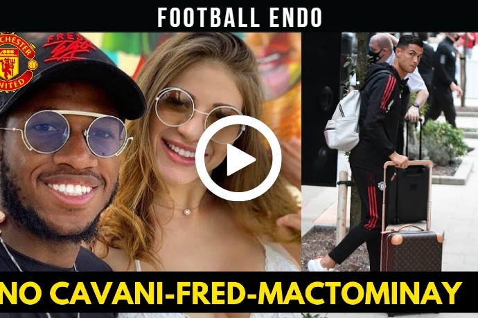 Video: Ronaldo arrives at hotel No Cavani, Fred and McTominay