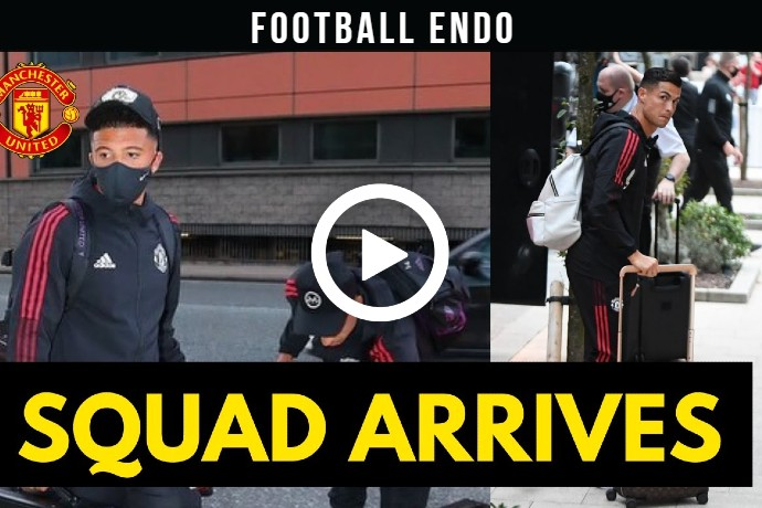 Video: Ronaldo and Man Utd squad arrive at hotel ahead of Manchester United Newcastle Match