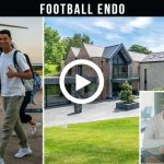 Video: Cristiano Ronaldo and Georgina Rodriguez with children in new mansion in Manchester
