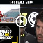 """Video: """"Ronaldo Has No Weakness!"""" Andy Goldstein Says Cristiano Ronaldo Is The Best No.9 Of All Time!"""