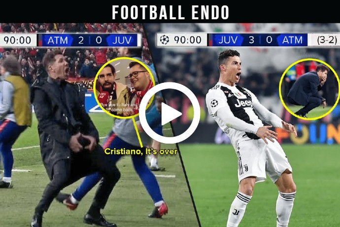 Video: The Day Cristiano Ronaldo Finally Get Revenge Against Diego Simeone and Atletico Madrid