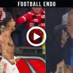 Video: Crazy Reactions on Cristiano Ronaldo Last Minute Goal vs Villarreal
