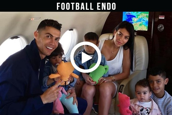 Video: Georgina Rodriguez with children during absence Cristiano Ronaldo