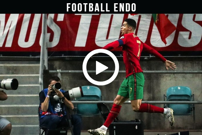 Video: Cristiano Ronaldo Goal Against Luxembourg | Portugal 1-0 Luxembourg