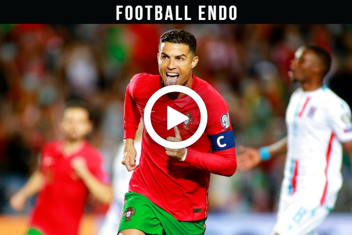 Video: Cristiano Ronaldo Scores his 793rd Goal of his Career Against Luxembourg