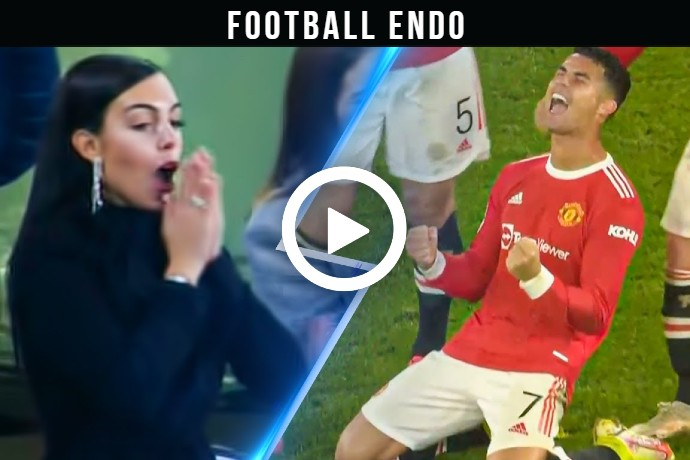 Video: Cristiano Ronaldo Crazy Goal Man united vs Atalanta Fans Reaction
